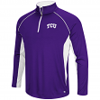 "TCU Horned Frogs NCAA ""Airstream"" 1/4 Zip Pullover Men's Wind Shirt"