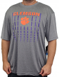 "Clemson Tigers NCAA ""Matrix"" Men's Performance Shirt - Charcoal"
