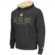 "Army Black Knights NCAA ""Zone II"" Pullover Hooded Men's Sweatshirt - Charcoal"