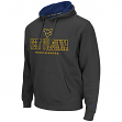 "West Virginia Mountaineers ""Zone II"" Pullover Hooded Men's Sweatshirt - Charcoal"