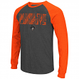 "Oklahoma State Cowboys NCAA ""Olympus"" Long Sleeve Raglan Shirt - Charcoal"