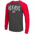 "Utah Utes NCAA ""Olympus"" Long Sleeve Raglan Shirt - Charcoal"