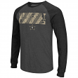 "Vanderbilt Commodores NCAA ""Olympus"" Long Sleeve Raglan Shirt - Charcoal"
