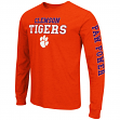 "Clemson Tigers NCAA ""Game Changer"" Long Sleeve Dual Blend Men's T-Shirt"