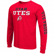 "Utah Utes NCAA ""Game Changer"" Long Sleeve Dual Blend Men's T-Shirt"