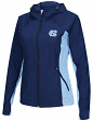 "North Carolina Tarheels NCAA Women's ""Step Out"" Full Zip Windbreaker Jacket"