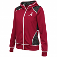 "Alabama Crimson Tide Women's NCAA ""Scaled"" Full Zip Premium Jacket"