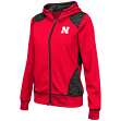 "Nebraska Cornhuskers Women's NCAA ""Scaled"" Full Zip Premium Jacket"