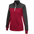"Alabama Crimson Tide Women's NCAA ""Burst"" 1/4 Zip Pullover Sweatshirt"