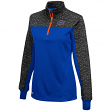 "Florida Gators Women's NCAA ""Burst"" 1/4 Zip Pullover Sweatshirt"