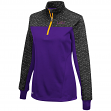 "LSU Tigers Women's NCAA ""Burst"" 1/4 Zip Pullover Sweatshirt"