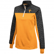 "Tennessee Volunteers Women's NCAA ""Burst"" 1/4 Zip Pullover Sweatshirt"
