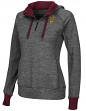 "Arizona State Sun Devils Women's NCAA ""Double Back"" 1/2 Zip Fitted Sweatshirt"