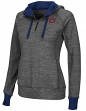 "Auburn Tigers Women's NCAA ""Double Back"" 1/2 Zip Fitted Sweatshirt"
