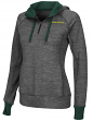 "Oregon Ducks Women's NCAA ""Double Back"" 1/2 Zip Fitted Sweatshirt"