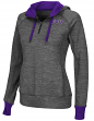 "TCU Horned Frogs Women's NCAA ""Double Back"" 1/2 Zip Fitted Sweatshirt"