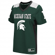 "Michigan State Spartans Women's NCAA ""Endo"" Fashion Football Jersey"
