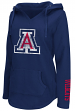 "Arizona Wildcats Women's NCAA ""Walkover"" V-neck Pullover Hooded Sweatshirt"