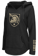 "Army Black Knights Women's NCAA ""Walkover"" V-neck Pullover Hooded Sweatshirt"