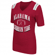 "Alabama Crimson Tide Women's NCAA ""Artistic"" Dual Blend Short Sleeve T-Shirt"