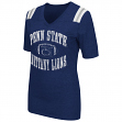 "Penn State Nittany Lions Women's NCAA ""Artistic"" Dual Blend Short Sleeve T-Shirt"