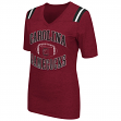 "South Carolina Gamecocks Women's NCAA ""Artistic"" Dual Blend Short Sleeve T-Shirt"