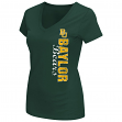 "Baylor Bears Women's NCAA ""Compulsory"" Dual Blend Short Sleeve T-Shirt"