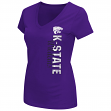 "Kansas State Wildcats Women's NCAA ""Compulsory"" Dual Blend Short Sleeve T-Shirt"