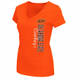 "Oklahoma State Cowboys Women's NCAA ""Compulsory"" Dual Blend Short Sleeve T-Shirt"