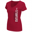 "Stanford Cardinal Women's NCAA ""Compulsory"" Dual Blend Short Sleeve T-Shirt"