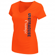 "Syracuse Orange Women's NCAA ""Compulsory"" Dual Blend Short Sleeve T-Shirt"