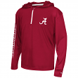 "Alabama Crimson Tide Youth NCAA ""Sleet"" 1/4 Zip Pullover Hooded Windshirt"
