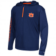 "Auburn Tigers Youth NCAA ""Sleet"" 1/4 Zip Pullover Hooded Windshirt"