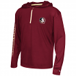 "Florida State Seminoles Youth NCAA ""Sleet"" 1/4 Zip Pullover Hooded Windshirt"
