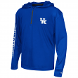 "Kentucky Wildcats Youth NCAA ""Sleet"" 1/4 Zip Pullover Hooded Windshirt"