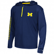 "Michigan Wolverines Youth NCAA ""Sleet"" 1/4 Zip Pullover Hooded Windshirt"