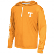 "Tennessee Volunteers Youth NCAA ""Sleet"" 1/4 Zip Pullover Hooded Windshirt"