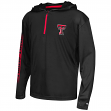 "Texas Tech Red Raiders Youth NCAA ""Sleet"" 1/4 Zip Pullover Hooded Windshirt"