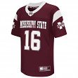 """Mississippi State Bulldogs NCAA Youth """"Hail Mary"""" Fashion Football Jersey"""