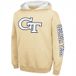 "Georgia Tech Yellowjackets Youth NCAA ""Zone"" Pullover Hooded Sweatshirt"
