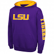 "LSU Tigers Youth NCAA ""Zone"" Pullover Hooded Sweatshirt"