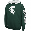"Michigan State Spartans Youth NCAA ""Zone"" Pullover Hooded Sweatshirt"