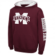 "Mississippi State Bulldogs Youth NCAA ""Zone"" Pullover Hooded Sweatshirt"