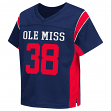 """Mississippi Ole Miss Rebels NCAA Toddler """"Hail Mary"""" Fashion Football Jersey"""
