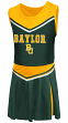 "Baylor Bears NCAA Toddler ""Aerial"" 2 Piece Set Cheerleader Outfit"