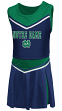 """Notre Dame Fighting Irish NCAA Toddler """"Aerial"""" 2 Piece Set Cheerleader Outfit"""
