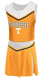 "Tennessee Volunteers NCAA Toddler ""Aerial"" 2 Piece Set Cheerleader Outfit"