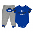 "Duke Blue Devils NCAA Infant ""MVP"" Onesie & Pant Outfit Set"