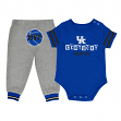 "Kentucky Wildcats NCAA Infant ""MVP"" Onesie & Pant Outfit Set"