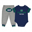 "Notre Dame Fighting Irish NCAA Infant ""MVP"" Onesie & Pant Outfit Set"